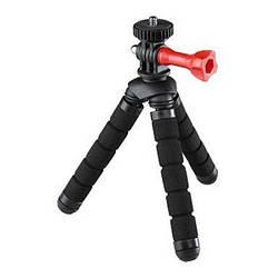 Штатив HAMA Flex 2in1 для фотокамер і GoPro, 14 см