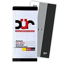 Тест-карта DUR RX N-01 Тест-пластины для Нанесения Краски. Размер: 155х72 мм
