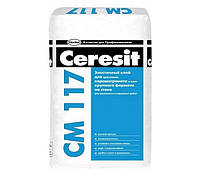 Клеящая смесь эластичная Ceresit CM 117 PRO/27кг
