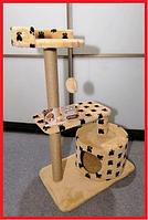 Дряпка когтеточка для кошек игровой комплекс высота 94 см