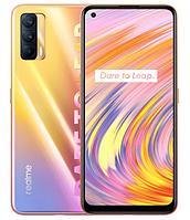 Смартфон с большим дисплеем  и тройной камерой на 2 сим карты Realme V15 8/128Gb RMX3093 5G orange