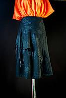 Стильная асимметричная юбка, p.m,l