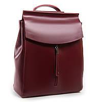 Красный женский рюкзак А. Rai 012-48 из натуральной кожи