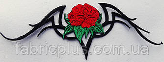 Аппликация  (термо)  роза