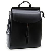 Женский рюкзак А. Rai 012-48 из натуральной кожи черный