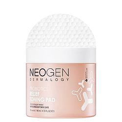 Зволожуючі педи з пробіотиками Neogen Probiotics Relief Toning Pad