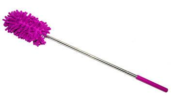 Пипидастр для прибирання пилу Duster Microfiber Yonic фіолетовий 28-75 см, мітла для видалення пилу   мітелка