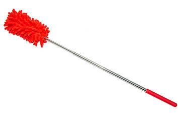 Пипидастр Duster Microfiber Yonic червоний 28-75 см, мітла для змахування пилу   віяло для прибирання (SV)