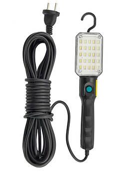 Фонарик для сто BL 9025 на 8.7 метров, фонарь для ремонта авто с магнитом работает от сети | ліхтарик для сто