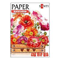 "Набор акварельной бумаги SANTI""Botany"", А3"