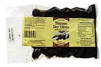 Маслини в'ялені з острова Фасос 225 г вакуумна упаковка