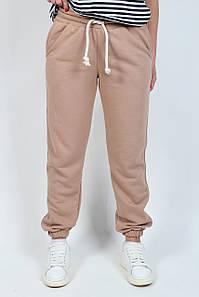 Спортивные брюки штаны женские турецкая трёхнитка №333 капучино