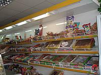 Стеллаж для продуктовых магазинов