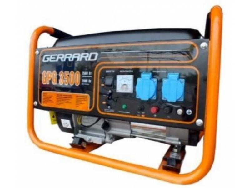 Gerrard / Бензиновый генератор GERRARD GPG 3500E Электростартер