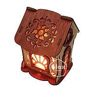 Соляная лампа светильник Домик 4