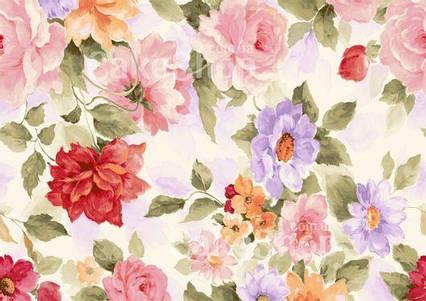 Вафельна картинка Квітковий принт 4
