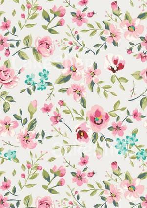 Вафельна картинка Квітковий принт 5