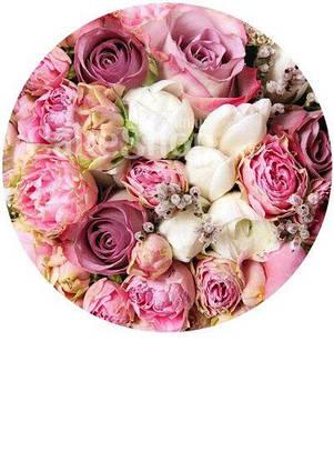 Вафельна картинка Троянди 3