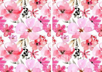 Вафельна картинка Квітковий принт 2