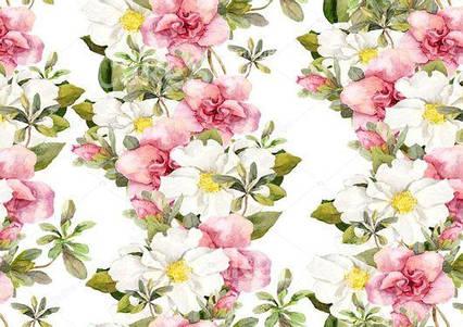 Вафельна картинка Квітковий принт 3