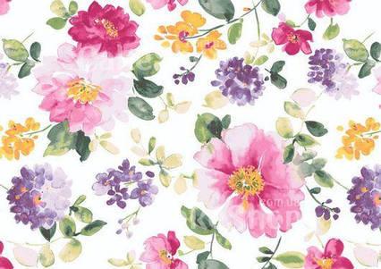 Вафельна картинка Квітковий принт 8