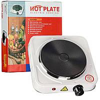 Електро-плита кухонна HOT PLATE 1000W одна конфорка