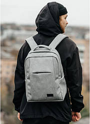 Рюкзак ZardX 0KT серый нубук