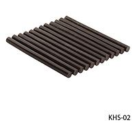 Смола (кератиновые палочки) для наращивания волос Lady Victory (цвет: коричневый) LDV KHS-02 /56-1