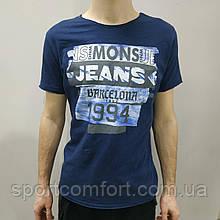 Футболка Mons Jeans синя