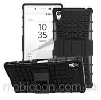 Чехол противоударный с подставкой для Sony Xperia Z5 Premium Dual E6883