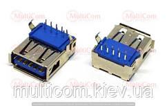 01-08-041. Гніздо USB 3.0 тип А монтажне, 90°