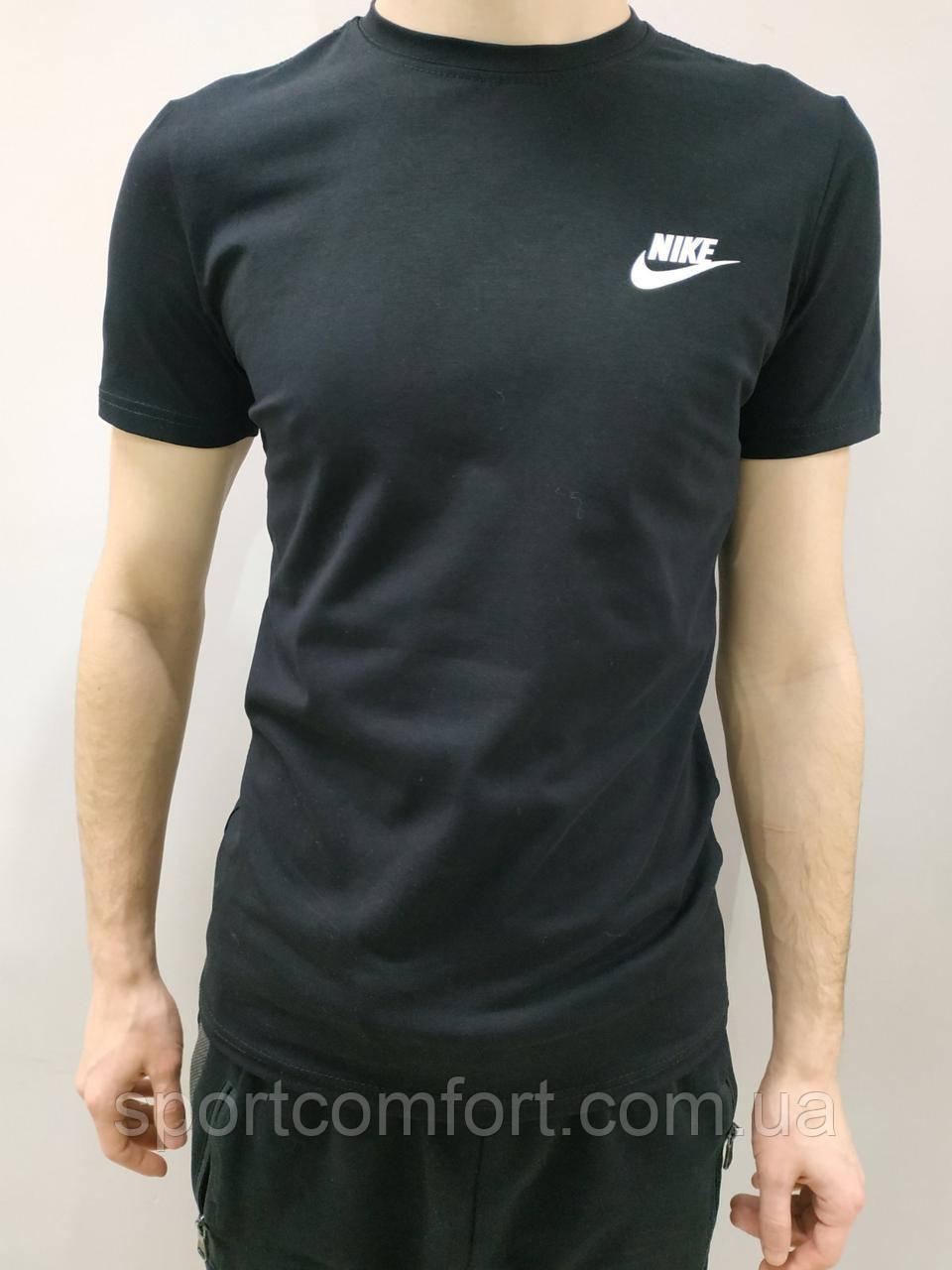 Футболка мужская Nike красная, черная