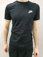 Футболка чоловіча Nike червона, чорна