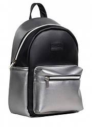Рюкзак Sambag Talari MSSPn чорний зі сріблом