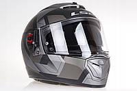 Шлем  LS2 FF390 BREAKER  PHYSICS MATT (титановый) + pinlock пинлок, фото 1