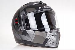 Шлем  LS2 FF390 BREAKER  PHYSICS MATT (титановый) + pinlock пинлок