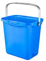 Контейнер для хранения пластиковый с ручкой голубой 6 л 260Х200Х240 мм Curver CR-00364