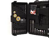 Акумуляторний Шуруповерт DeWALT DCD791 (24V 5A/h Li-Ion) з великим набором інструментів для свердління, фото 2