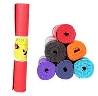Коврик для йоги BT-SG-0004 оранжевый, коврик для фитнеса, йога мат, коврик для гимнастики