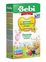 Каша безмолочная овсяная с лесными ягодами Bebi Premium, 200 г