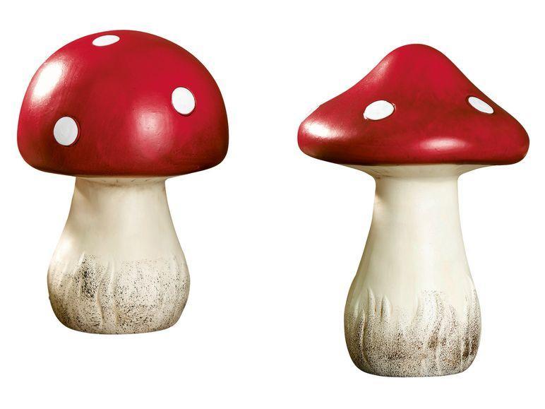 Грибы керамические, декоративные Melinera 2 шт, 3088