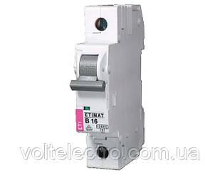 Автоматические выключатели ETIMAT 6 AC 40A 1p