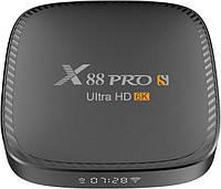 Приставка X88 PRO S | 4/32 GB | Allwinner H616 | Android TV Box, фото 1