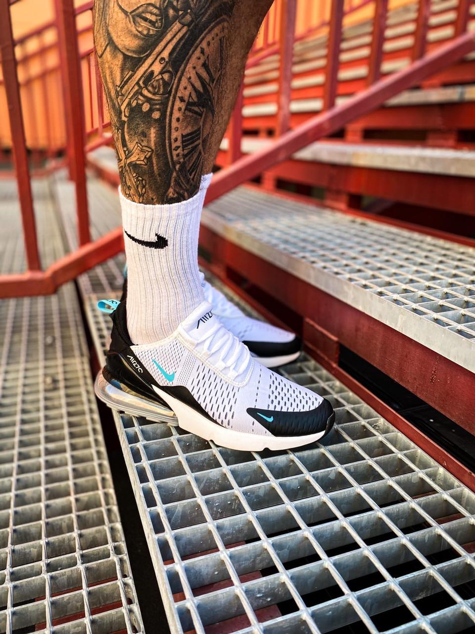 Чоловічі білі Кросівки Nike Air Max 270