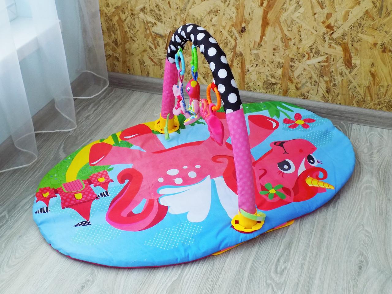 Детский развивающий коврик для детей Bambi