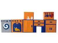 Модульный набор дидактическая Кухня Airis, фото 1