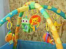 Дитячий розвиваючий килимок для дытей з бортиком, фото 3