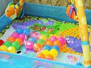 Дитячий розвиваючий килимок для дытей з бортиком, фото 2