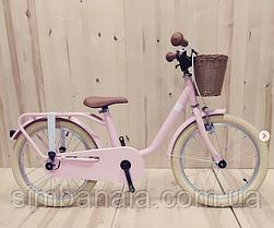 Двухколесный велосипед Puky STEEL CLASSIC 16 retro(pink/розовый)