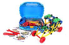 Конструктор дитячий пластмасовий у валізі Технотроник Мега ТехноК арт.3992